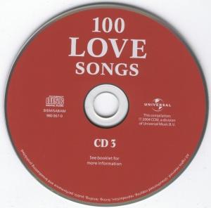 Various Artist - 100 Love Songs - CD3