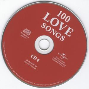 Various Artist - 100 Love Songs - CD4